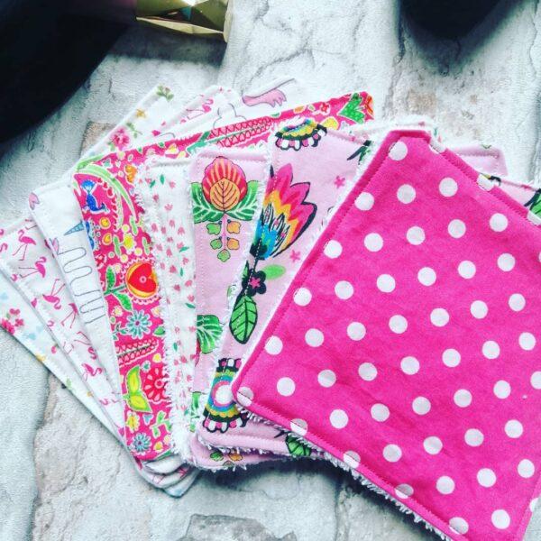 Reusable cotton face pads