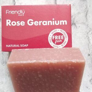 Rose Geranium Soap Bar