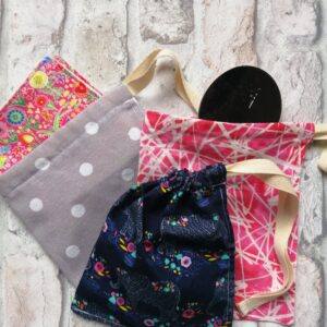 Draw string cotton bags
