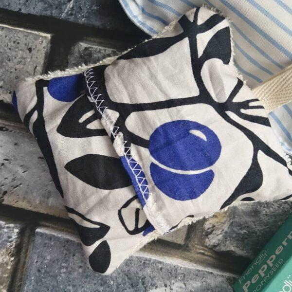 Cotton soap saver pouch