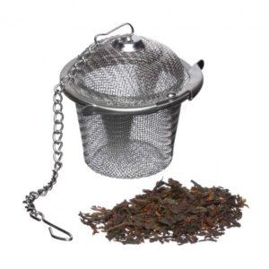 Tea infuser, loose leaf tea basket